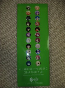 Clear Poster Set box